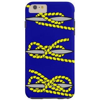 Nautical Knot Tough iPhone 6 Plus Case