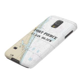 Nautical Latitude Longitude: Fort Pierce, Florida Galaxy S5 Case