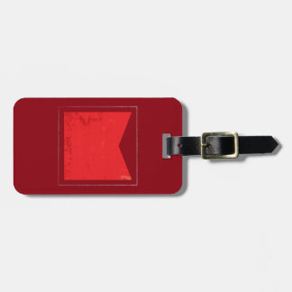 "Nautical Letter ""B"" Signal Flag Bag Tag"