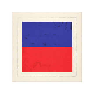 "Nautical Letter ""E"" Signal Flag Canvas Print"