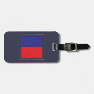 "Nautical Letter ""E"" Signal Flag Luggage Tag"