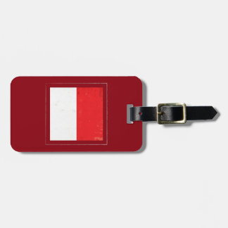 "Nautical Letter ""H"" Signal Flag Luggage Tag"