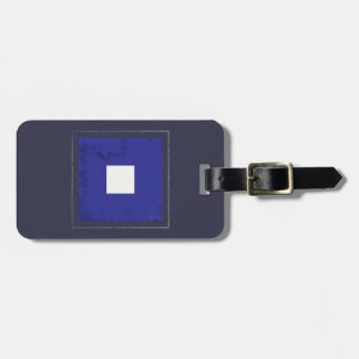 "Nautical Letter ""P"" Signal Flag Luggage Tag"