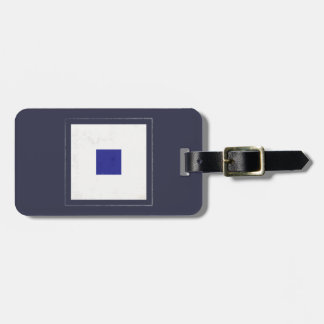 "Nautical Letter ""S"" Signal Flag Luggage Tag"