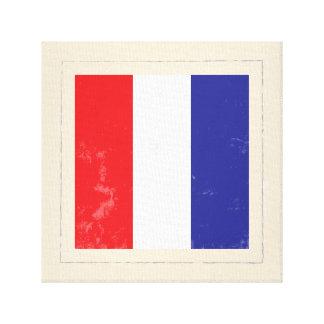 "Nautical Letter ""T"" Signal Flag Canvas Print"