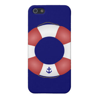 Nautical Life preserver Cover For iPhone SE/5/5s