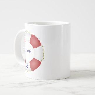Nautical Life preserver Giant Coffee Mug