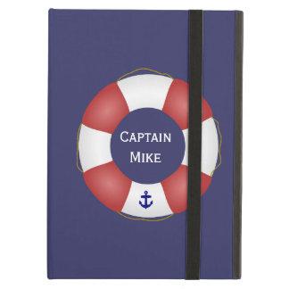Nautical Life preserver iPad Folio Cases