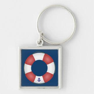 Nautical Life preserver Keychain