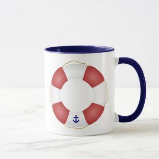 Nautical Life preserver Mug