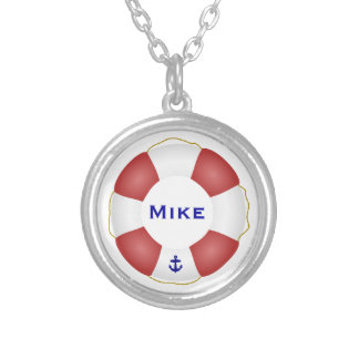Nautical Life preserver Necklace