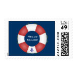 Nautical Life preserver Postage