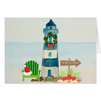 Lighthouse Christmas Cards - Invitations, Greeting & Photo Cards ...