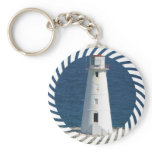 Nautical Lighthouse Keychain