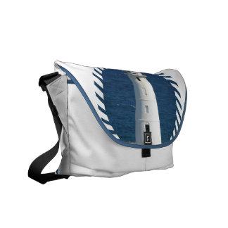 Nautical Lighthouse Messenger Bag