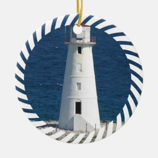 Nautical Lighthouse Ornament