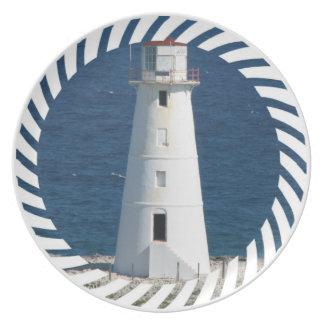 Nautical Lighthouse  Plate