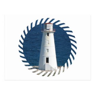 Nautical Lighthouse Postcard