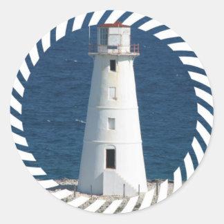 Nautical Lighthouse Sticker