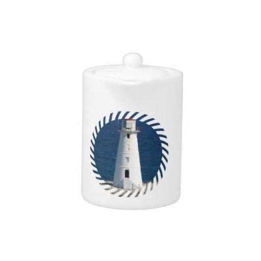 Nautical Lighthouse Teapot