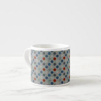 Nautical Linen Dots Espresso Cup