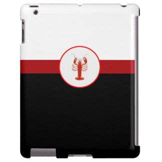 Nautical Lobster iPad Case