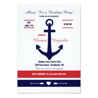 Nautical Love 2 Invitation