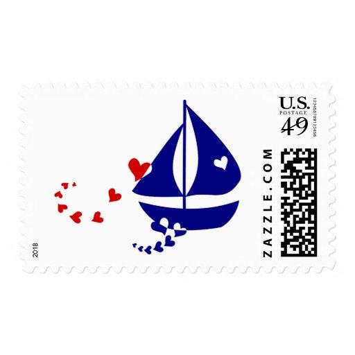 Nautical Love Postage