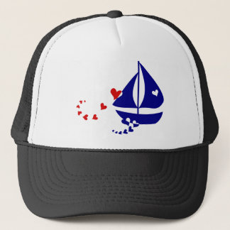 Nautical Love Trucker Hat