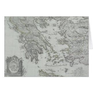 Nautical Map Card