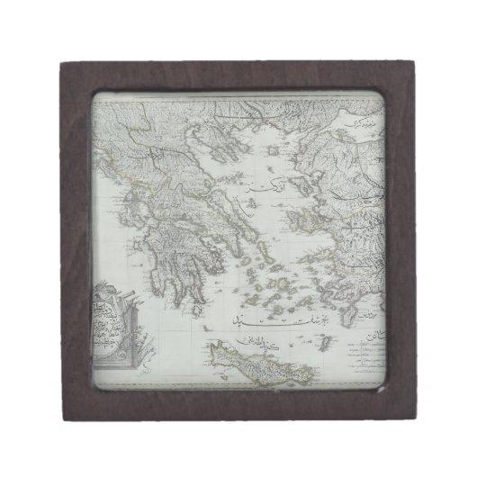 Nautical Map Jewelry Box