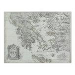 Nautical Map Post Card