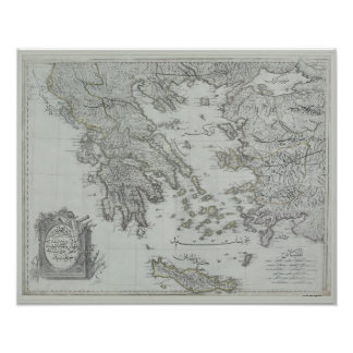 Nautical Map Poster