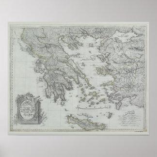 Nautical Map Print