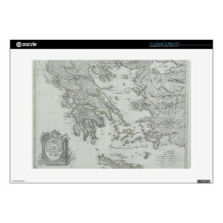Nautical Map Decal For Laptop