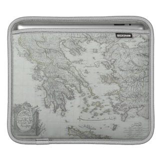 Nautical Map Sleeves For iPads