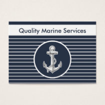 Nautical Marine Business Cards