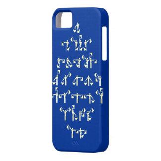 Nautical Maritime Semaphore Flag Signal Alphabet iPhone SE/5/5s Case
