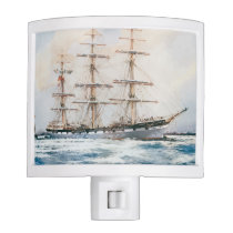 Nautical Maritime Theme Night Light