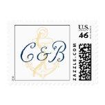 Nautical Monogram Anchor Stamp