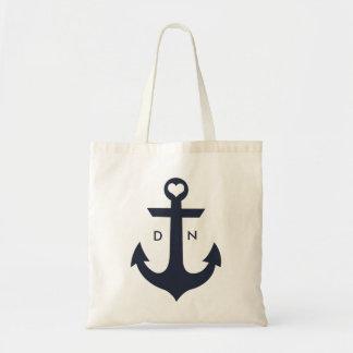 Nautical Monogram Bag