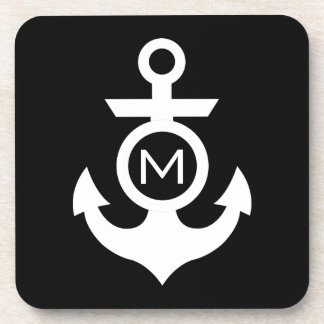 Nautical Monogram Coaster