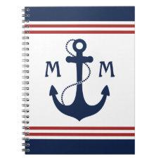 Nautical Monogram Notebook