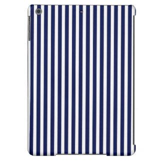 Nautical Navy and White Cabana Stripes iPad Air Covers