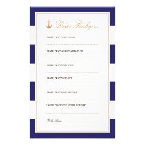 Nautical Navy | Dear Baby Cards