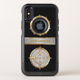 Nautical OtterBox Commuter iPhone X Case