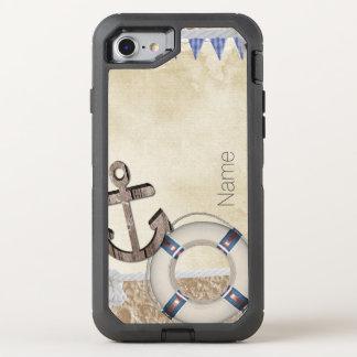 Nautical OtterBox Defender iPhone 8/7 Case