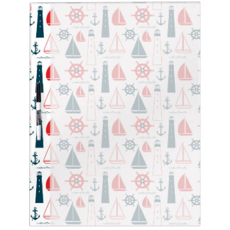 Nautical Patriot Dry Erase Board