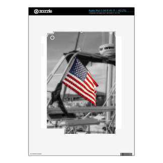Nautical Patriot Skins For iPad 3