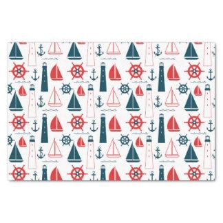 Nautical Patriot Tissue Paper